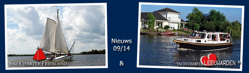 Nieuws Sailcharter Friesland & Yachtcharter Leeuwarden